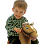"""Legacy Grow-with-Me Pony sings the """"I'm a Little Pony"""" song and says 6 talking phrases."""