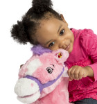 Candy 2-in-1 Pony features soft, huggable plush