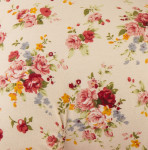 Flowers Rocking Pony features a beautiful floral pattern for vintage, hand-crafted look