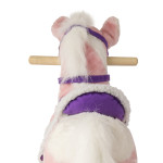 Pixie Rocking Horse has a realistic swishing tail