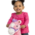 Candy 2-in-1 Pony features easy-grip handles and non-slip foot steps