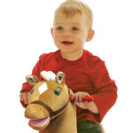 Legacy Grow-with-Me Pony is a soft, huggable plush pony.