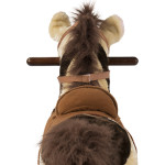 Sheriff Rocking Horse has a realistic swishing tail