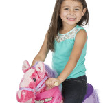 Sierra Rocking Horse comes with a removable, wearable bandana