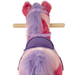 Sierra Rocking Horse has a realistic mane and tail