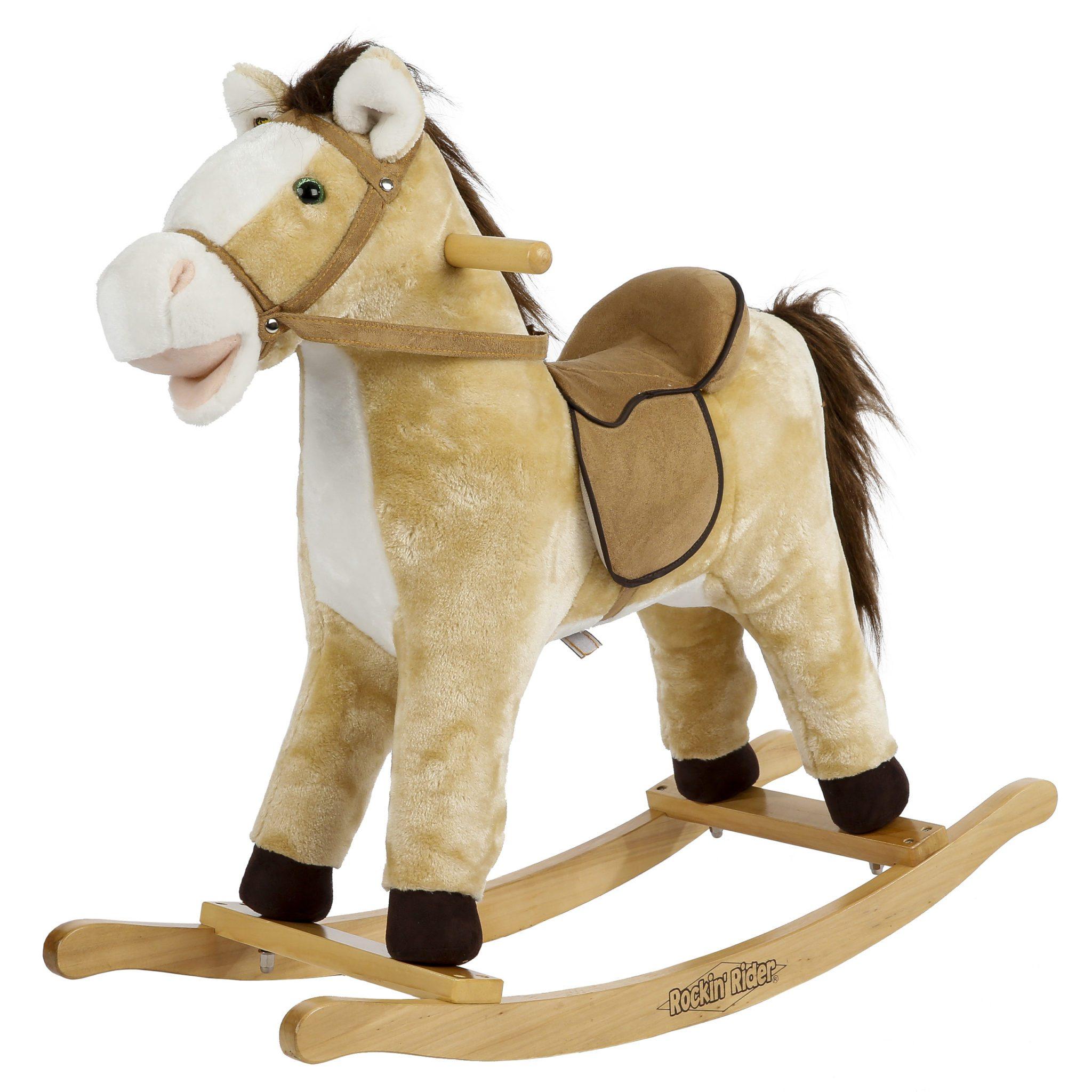 derby rocking horse your talking singing friend. Black Bedroom Furniture Sets. Home Design Ideas